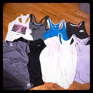 Bundle of workout tops!